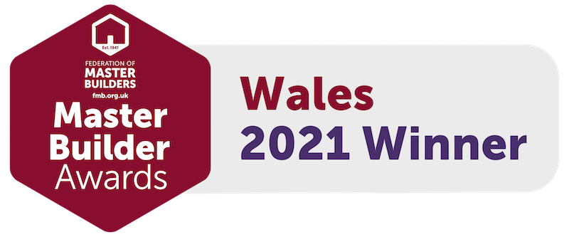Wales Master Buider winner logo